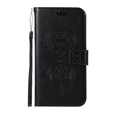 Dandelion Embossed Mobile Phone Case Protective Cover for Samsung J4 Prime