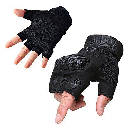 Men's Outdoor Tactics and Semi-full Finger O-slip Anti-slip Glove