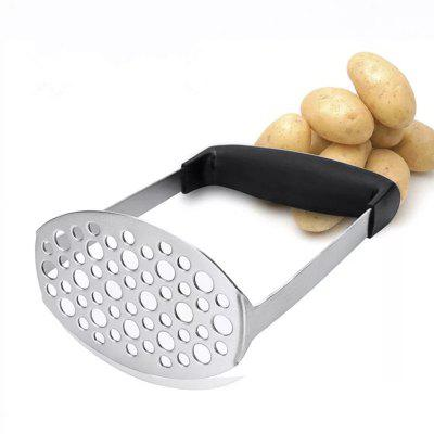 Stainless Steel Potato Masher with Broad and Ergonomic Horizontal Handle  Fine-g