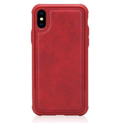Red Skin Protection Phone Case for iPhone XS / X