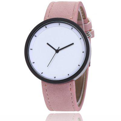 New Fashion Lady Simple Scale Dial Casual Student Quartz Watch