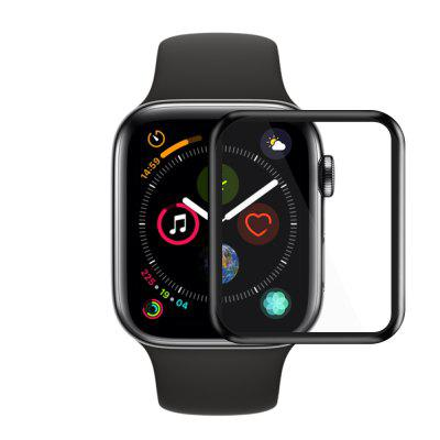 3D Full Cover Tempered Glass Screen Protector Film for iWatch Series 4 44mm