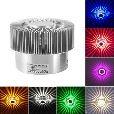 JUEJA LED 3W Hall Light Creative Sun Flower Walkway Porch Decor Ceiling Lamp Control Colorful Lighting