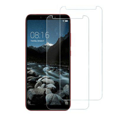 2PCS 9H 0.26mm Edge Tempered Glass Screen Protector для Xiaomi Mi A2 / 6X