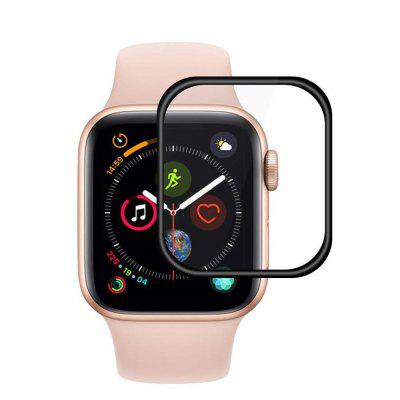 3D Full Coverage Tempered Glass Screen Protector for iWatch Series 4 44mm