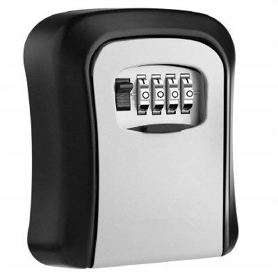 Key Storage Lock Box with 4 Digit Combination