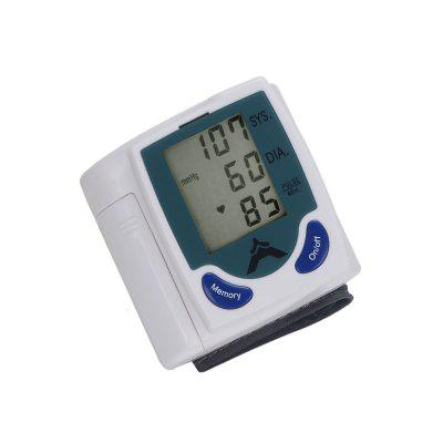 Health Care Automatic Digital LCD Wrist Blood Pressure Monitor
