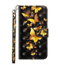 3D Painted Luxury Flip Wallet Leather Case for Xiaomi Mi Max 2