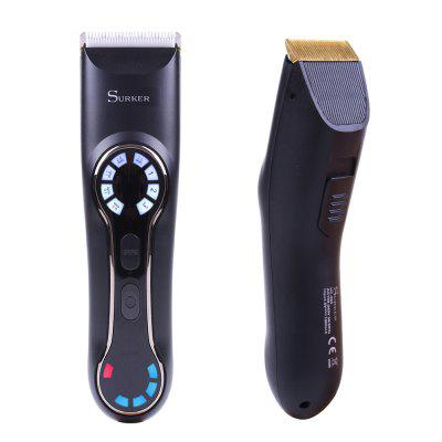 SURKER Electric Hair Clipper Digital LCD Display Fast Charge