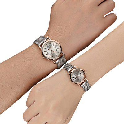 Fashion Lovers Watch Stainless Steel strap Diamond Dial Watch Watches