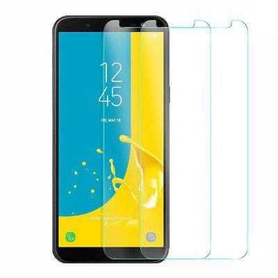 2 Pack HD Screen Protector Tempered Glass for Samsung Galaxy J6 2018