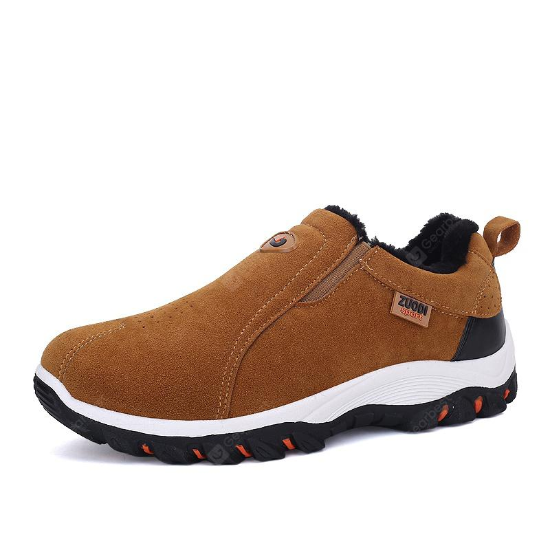 921904057b3f4 ZEACAVA Plus Size Outdoor Slip-on Hiking Shoes for Men