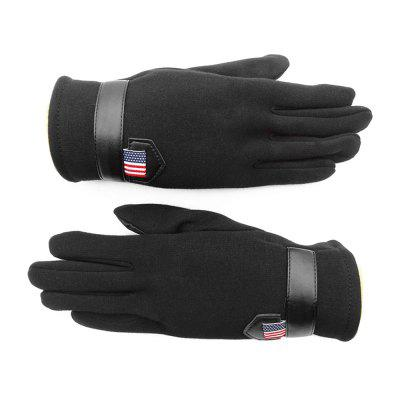 Outdoor Cold and Warm Touch Screen Velour Gloves for Men and Women