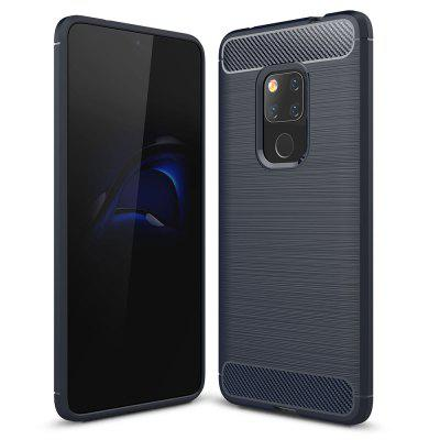 Luxury Carbon Fiber Soft Case for Huawei Mate 20