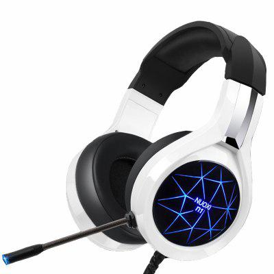 NUOXI N1 Computer Stereo Gaming Headphones  LED Light for PC Gamer