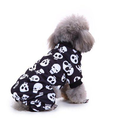 Pet Dog Clothes Coats Soft Cotton Puppy Christmas Santa Costumes