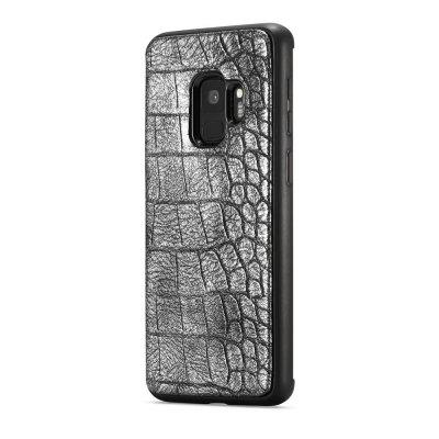 WHATIF Crocodile Pattern PU Leather TPU Cover Phone Case for SAMSUNG Galaxy S9