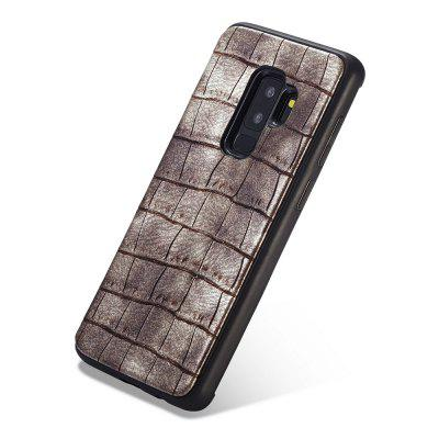 WHATIF Crocodile Pattern PU Leather Phone Case for SAMSUNG Galaxy S9 Plus