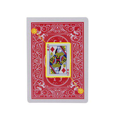 Trapezoidal Playing Cards Close Range Magic Props
