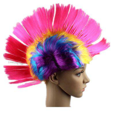 Funny Color Fluffy Punk Comb Hair
