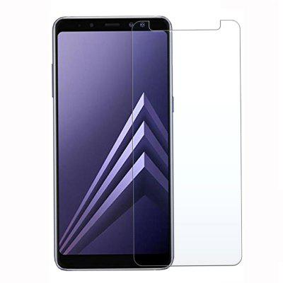 2PSC HD Screen Protector Tempered Glass for Samsung Galaxy A8 2018