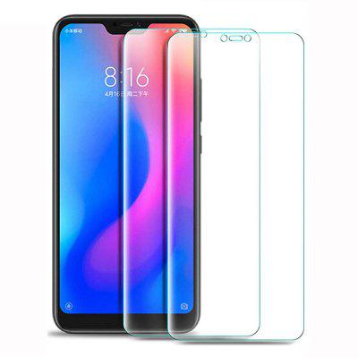 2PCS HD Screen Protector Tempered Glass for Xiaomi Mi A2 Lite / Redmi 6 Pro