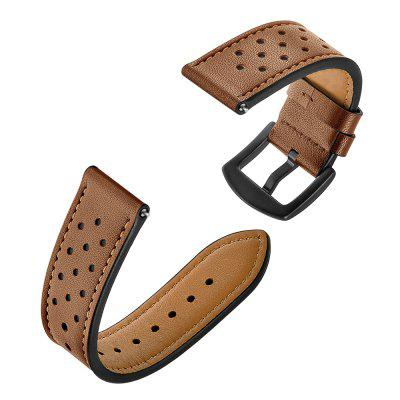 Genuine Leather Watch Strap 22mm for AMAZFIT Stratos 2 / 2S