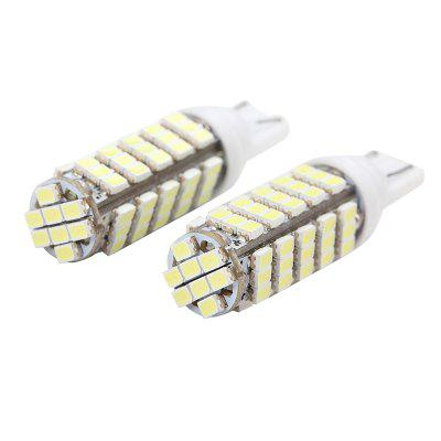 2PCS 2 Times Lightness Brighter T10 LED Width Light W5W Indication Bulb 158 194