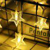 10M Christmas Starry Lantern - YELLOW