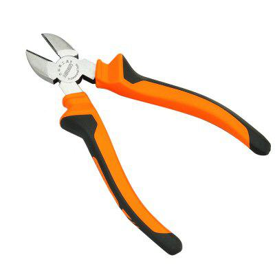 Diagonal Side Non-Slip Handle Long Nose Pliers Wire Stripper Cutter