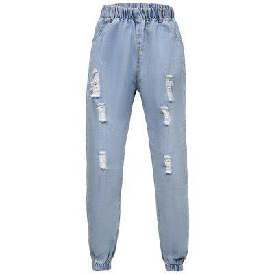 04db24fc51d Women S Jeans Solid Elastic Waist Pants -  25.34 Free Shipping ...