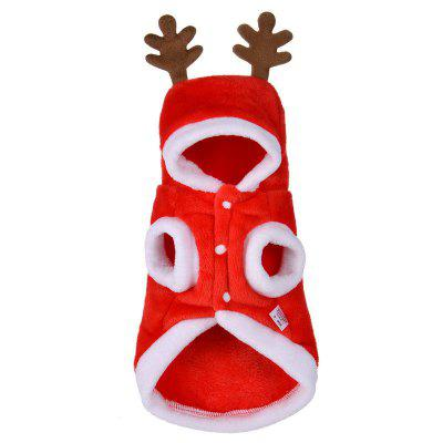 YEDUO Natal Dog Clothes Winte Casaco Roupas Santa Costume Pet Dog