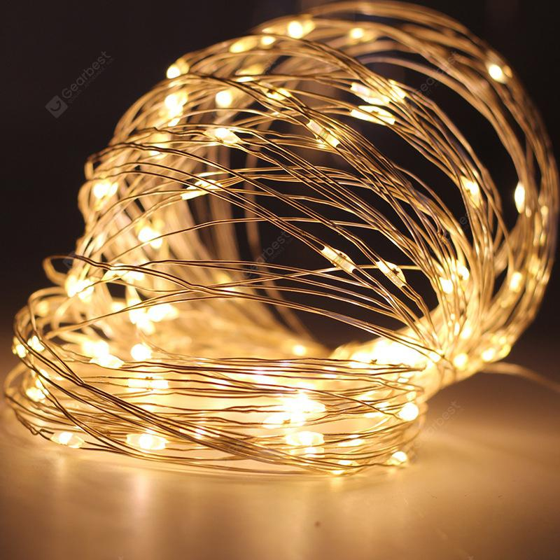 Christmas Led String Lights.Yeduo Copper Wire Led String Lights Night For Garland Fairy Christmas Tree