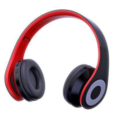 Wireless Bluetooth Headphone with MIC Build in 4MODE EQ Super Bass Support TF