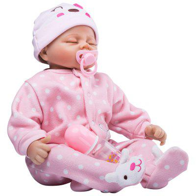 22inch Reborn Baby Dolls Lifelike Soft Vinyl Real Life reborn toddler kid gift