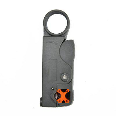 Coaxial Household Multi Tool Cable Stripper/Cutter Tool Rotary Coax Stripper