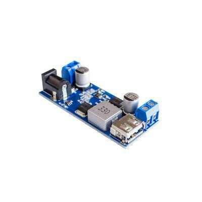 DC-DC 24V /12V To 5V 5A Step-down Power Module With USB Port Fast-Charge