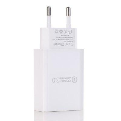 QC 3.0 5V/3A Power Adapter Fast Charger for Xiaomi / Samsung / iphone / Huawei