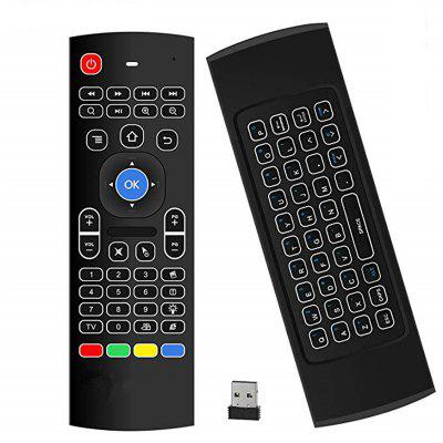 Android TV Box draadloze afstandsbediening toetsenbord Air Mouse 2.4ghz voor KODI PC TV