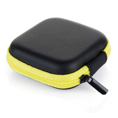 Mini Portable Anti-Pressure Cube Headset Data Cable Charging Cable Storage Bag