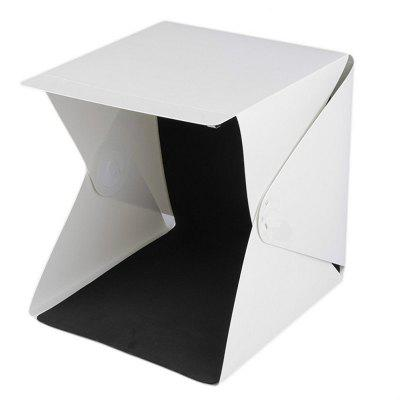 Mini Folding Photography Studio Longet Photo Box with LED Light