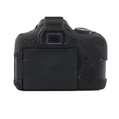 Soft Silicone Rubber Protective Body Cover Case Skin for Canon 750D