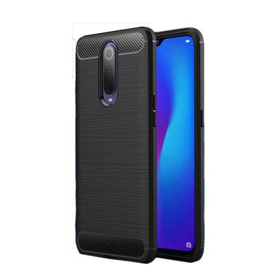Carbon Fibre Anti-Fall Cell Phone Case for Huawei Mate20 Lite