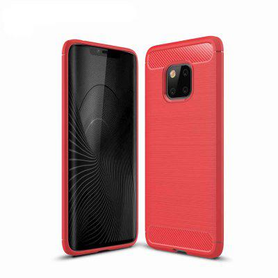 Carbon Fibre Anti-Fall Cell Phone Case for Huawei Mate20 Pro