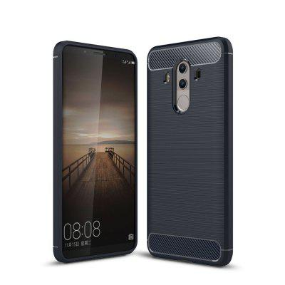 Luxury Carbon Fiber Anti Drop TPU Soft Cover Case Huawei Mate 10 Pro 6.0 Inch