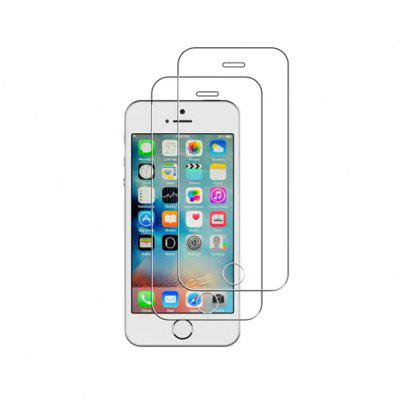 Y-2PCS HD Screen Protector Full Cover Tempered Glass for iPhone 5 / 5S / SE