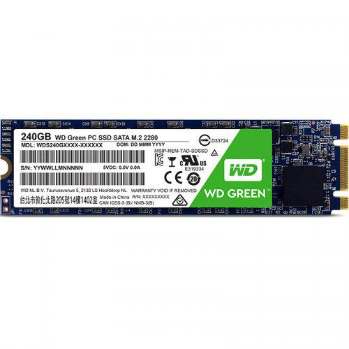 WD Green M2 2280 Internal Solid State Drive GREEN 240GB