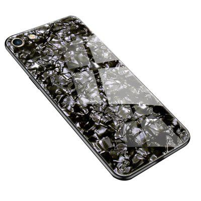 Fashion Toughened Glass Hard Mobile Phone Protective Case For iPhone 6/6s Plus