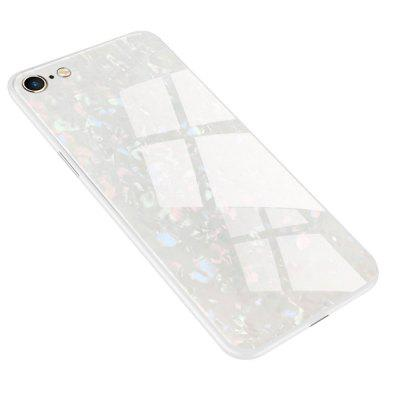 Fashion Toughened Glass Hard Mobile Phone Protective Case For iPhone 6/6s