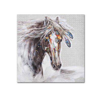 Modern Living Room Bedroom Abstract Animal Horse Head Decoration Painting